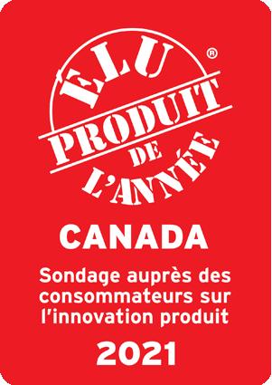 Voté Produit de l'année - Canada - Enquête des consommateurs sur l'innovation produit - 2021.