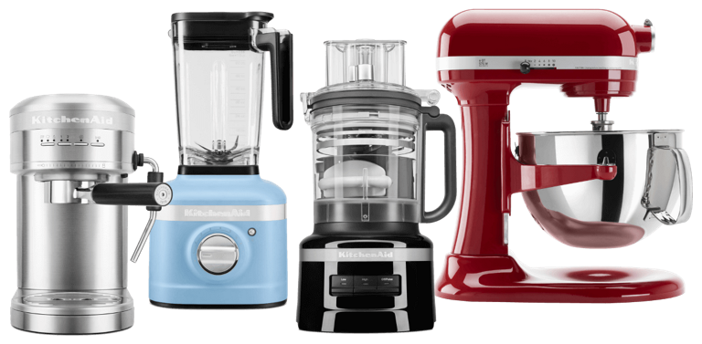 Collection of KitchenAid small appliances