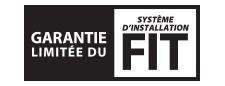 garantie limitee du system d'installation fit
