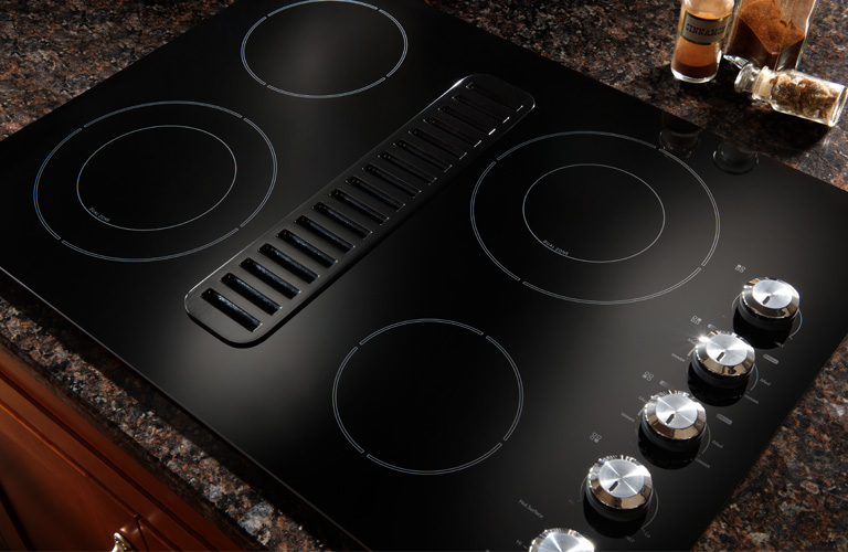KitchenAid 4 Burner Built-In Electric Cooktop