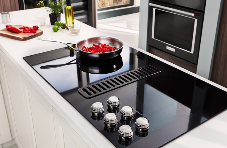 KitchenAid Downdraft Cooktops