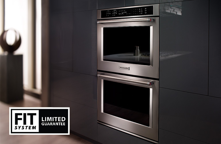 KitchenAid Built-In Double Wall Oven FIT System