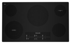 36inch Electric Cooktop with 5 Elements and Touch-Activated Controls