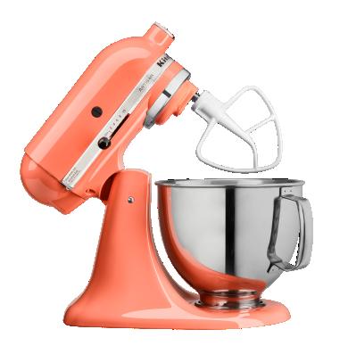 KitchenAid® tilt-head stand mixer.