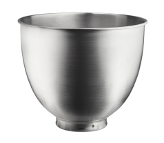 KitchenAid® brushed stainless steel bowl for tilt-head stand mixers.