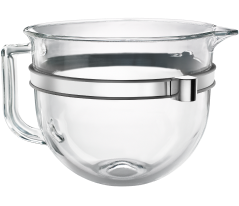 KitchenAid® glass bowl for bowl-lift stand mixers.