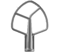 KitchenAid® nickel-coated flat beater.