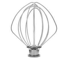 KitchenAid® 6-wire whip for tilt-head stand mixers.