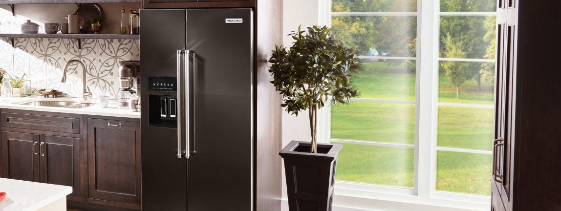 Shop KitchenAid® Refrigerators.