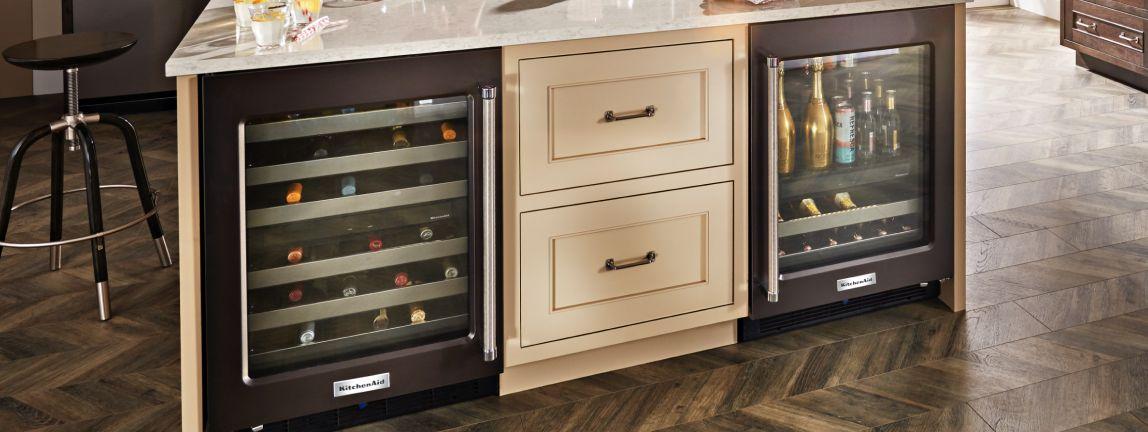 Shop KitchenAid® Undercounter Refrigerators.