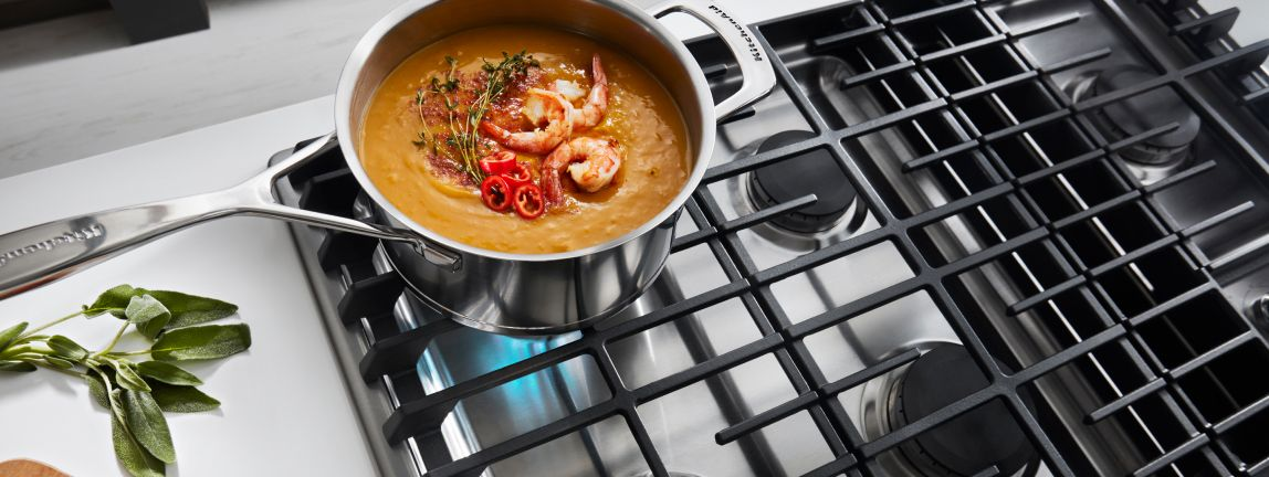 Shop KitchenAid® Cooktops.