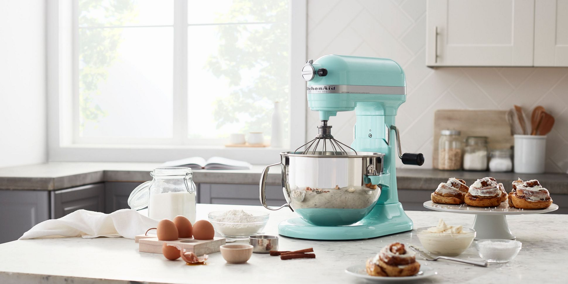 A Stand Mixer featured in Color of the Year, Kyoto Glow.