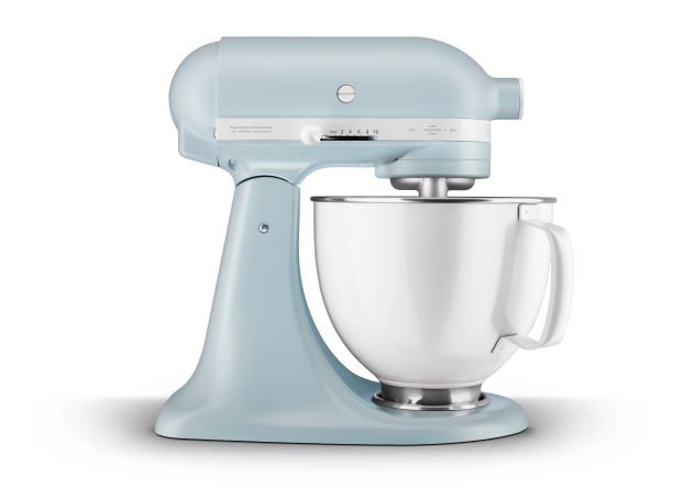 Limited Edition Heritage Artisan® Series Model K 5 Quart Tilt-Head Stand Mixer with Stainless Steel Bowl.