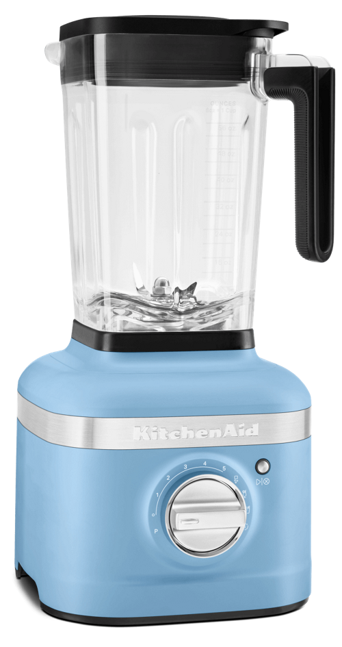 Product shot of Blue Velvet K400 Blender.