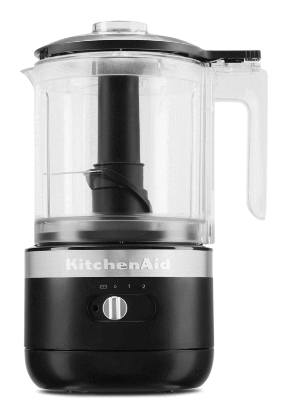 KitchenAid Black Matte Cordless Chopper.