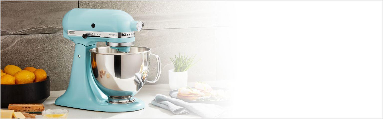 KitchenAid® Artisan® Series Stand Mixer with eggs benedict