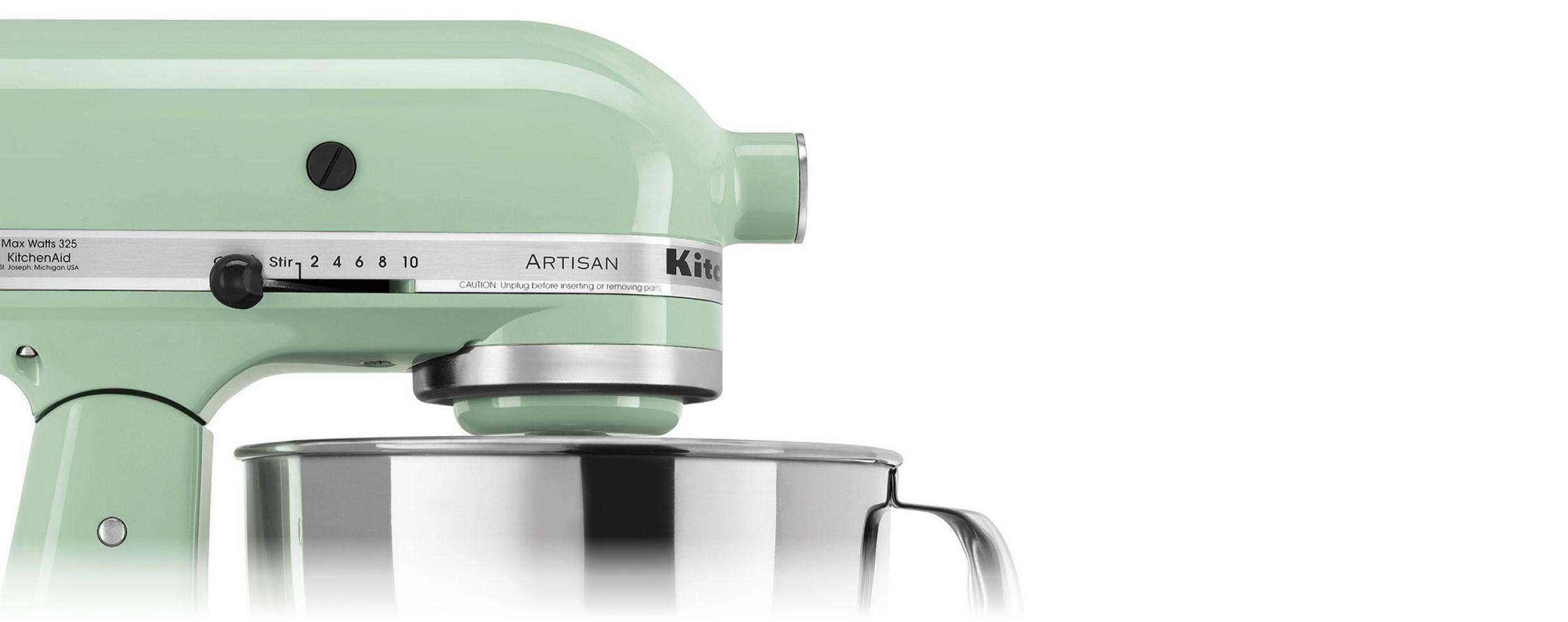 A KitchenAid® Stand Mixer side profile