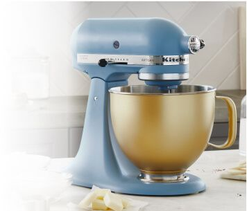 Select KitchenAid® stand mixer bowls on sale now.