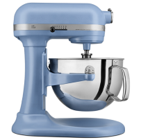 KitchenAid® Tilt-Head Stand Mixer with Stainless Steel Bowl in Blue Velvet.