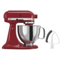 KitchenAid® Value Bundle Artisan® Series 5 Quart Tilt-Head Stand Mixer with Flex Edge Beater in Empire Red.