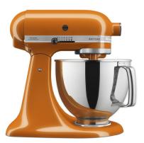 KitchenAid® Artisan® Series 5 Quart Tilt-Head Stand     Mixer in Honey.