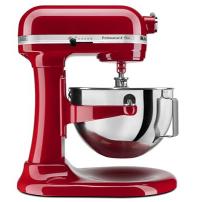 KitchenAid® Professional 5™ Plus Series 5     Quart Bowl-Lift Stand Mixer in Empire Red.