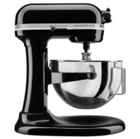 KitchenAid® Professional 5™ Plus Series 5 Quart     Bowl-Lift Stand Mixer in Onyx Black.