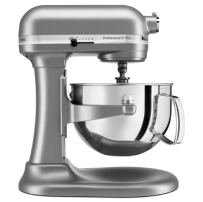 KitchenAid® Professional 5™ Plus Series 5 Quart     Bowl-Lift Stand Mixer in Silver.     1