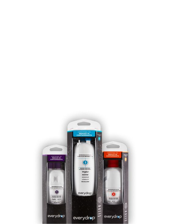 Group of everydrop(R) water filters.