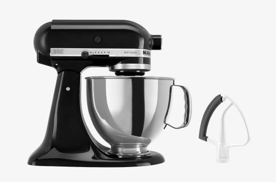 KitchenAid® Stand Mixer with Flex Edge beater.