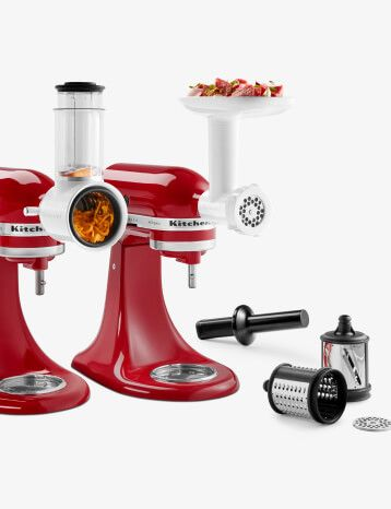 KitchenAid® Stand Mixer attachments.