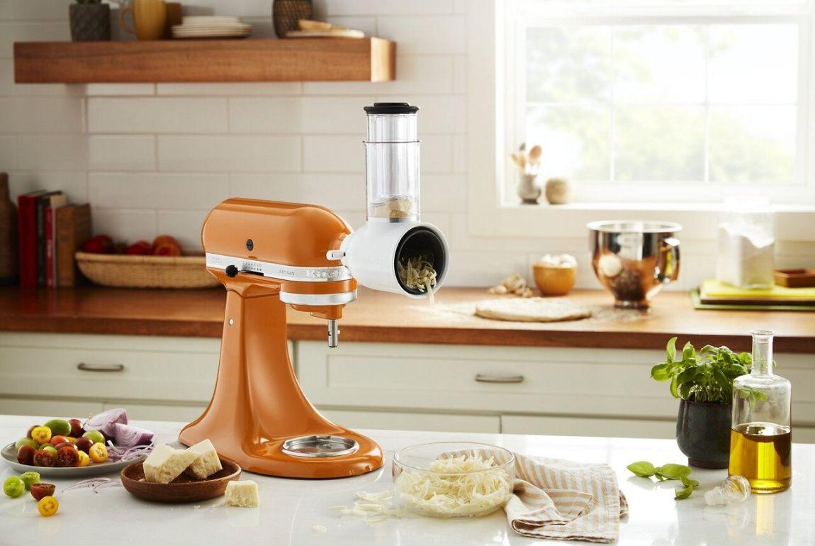 KitchenAid® Stand Mixer with Flex Edge beater.