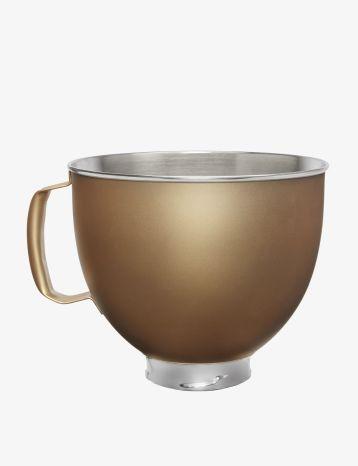 KitchenAid® ceramic stand mixer bowl.