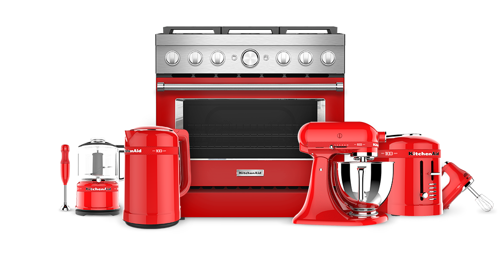 KitchenAid Passion Red Suite