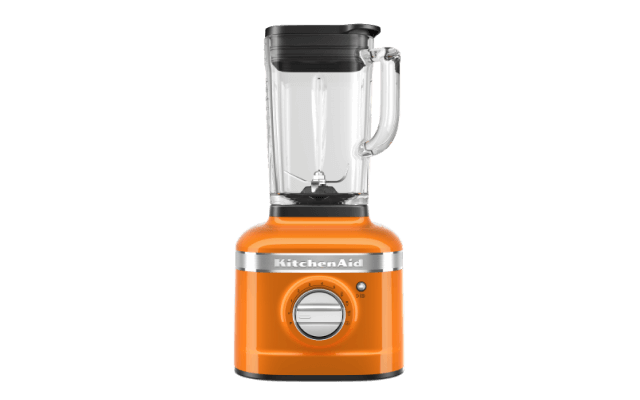 A K400 Variable Speed Blender in Honey.