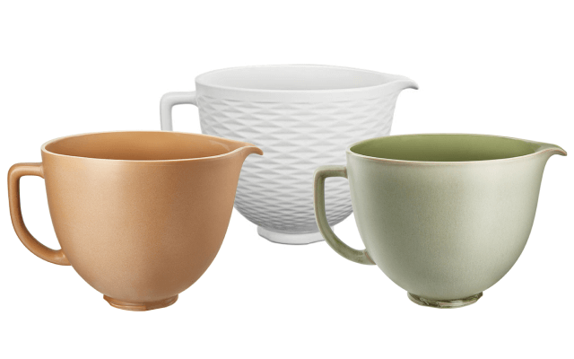 A Set of Three Stand Mixer Bowls.
