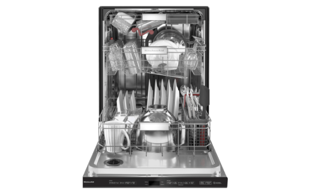 A Dishwasher with FreeFlex™ Third Rack.