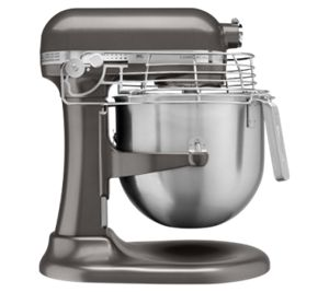A KitchenAid® commercial stand mixer.