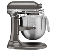 A KitchenAid? commercial stand mixer.