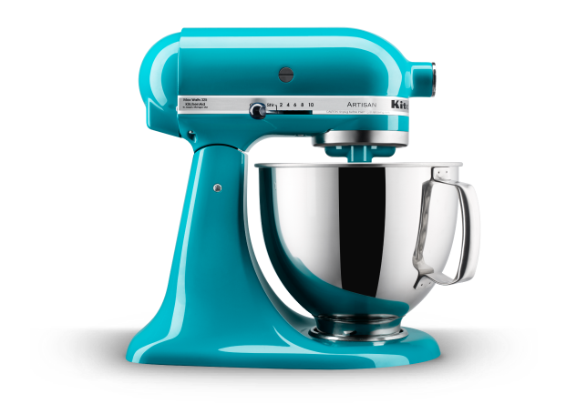 Select KitchenAid® Artisan® Series stand mixers on sale now.