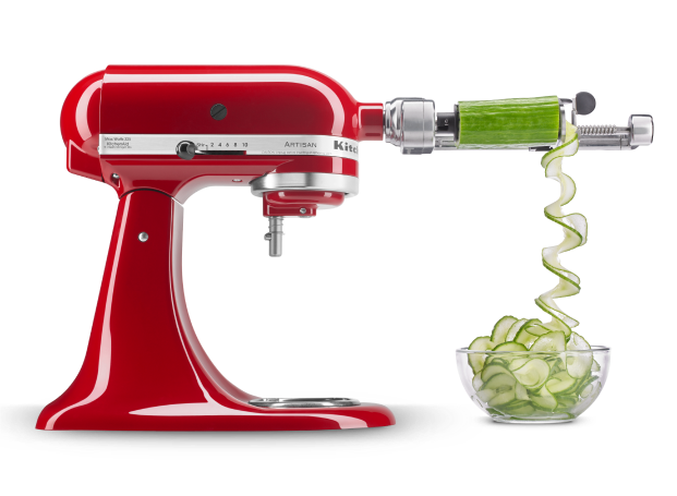 Select KitchenAid® stand mixer attachments on sale now.