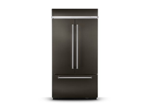 KitchenAid® built-in refrigerator.