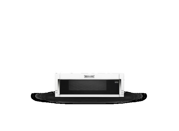 KitchenAid® over-the-range microwave.