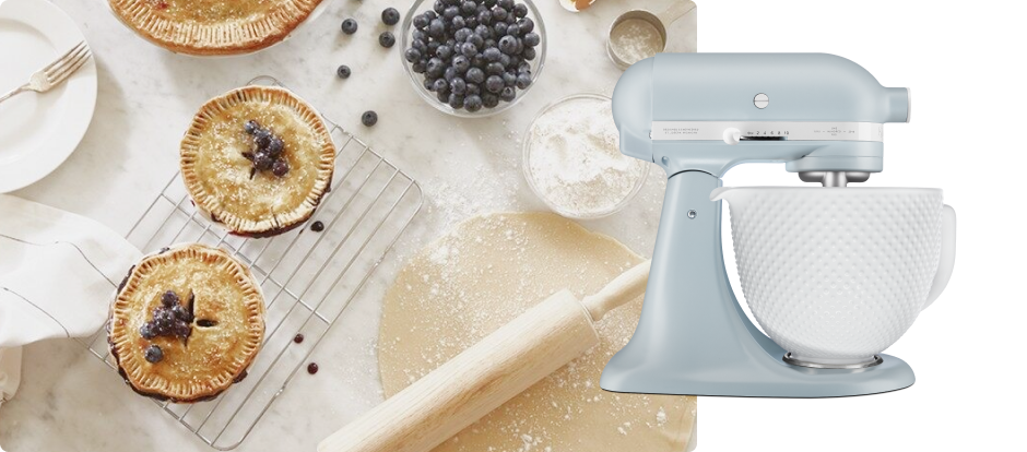 Baking with a KitchenAid® Stand Mixer.