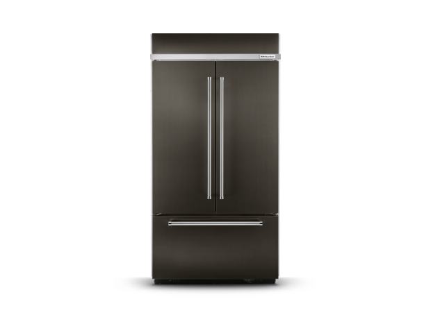 KitchenAid® built-in refrigerator.