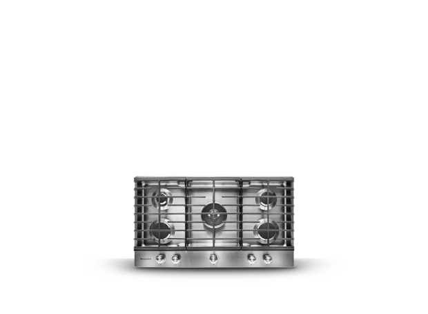 KitchenAid® cooktop.