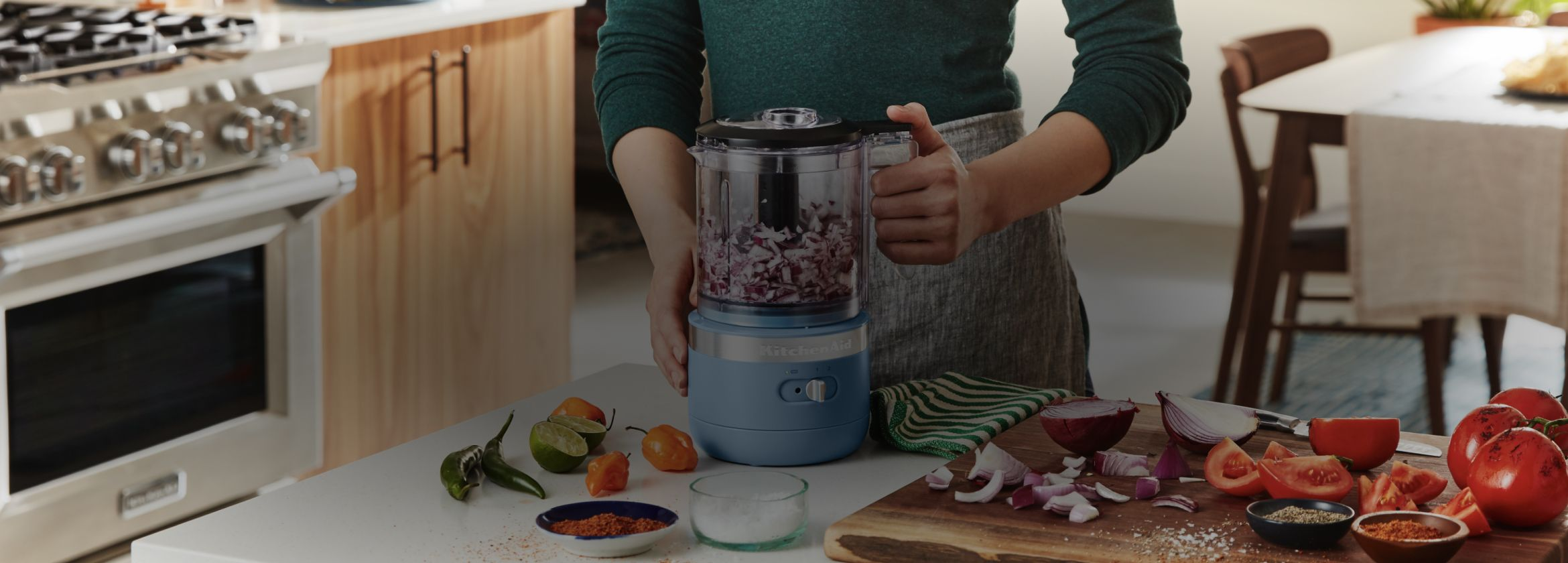 KitchenAid® Food Processor.