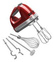 Available nine-speed and digital display hand mixers from KitchenAid.