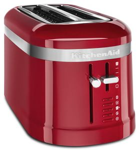 Enjoy toasted breads and pastries with KitchenAid® 4-slice toasters.
