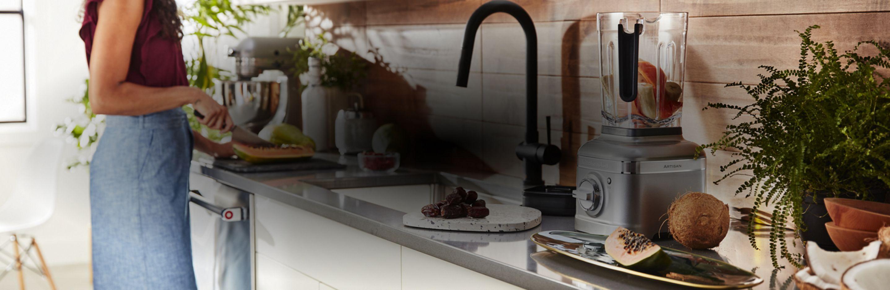 KitchenAid® Stand Mixer and Countertop Blender.